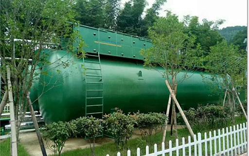 50TPD碳钢地上式污水处理设备